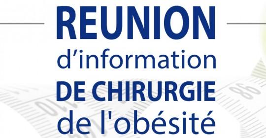 Réunion d'information d'obésité (Grand public) 2016
